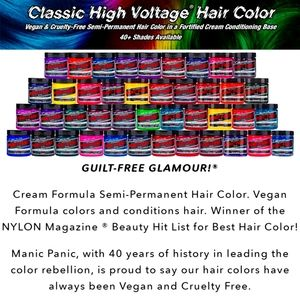 3/$35- More Colours Added- MANIC PANIC hair dyes!